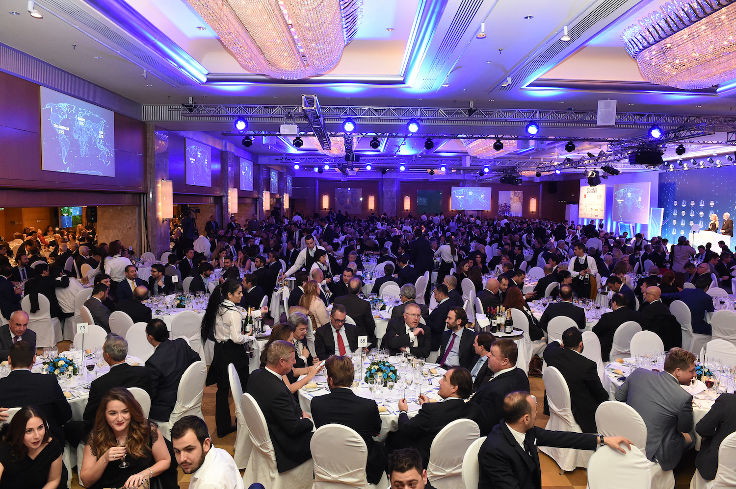 A record attendance of 1,200 guests attended the 2016 event